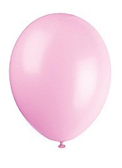 Powder Pink Latex Balloons