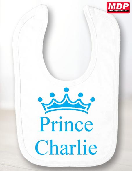 Prince Baby Bib