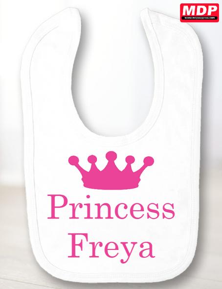 Princess Baby Bib