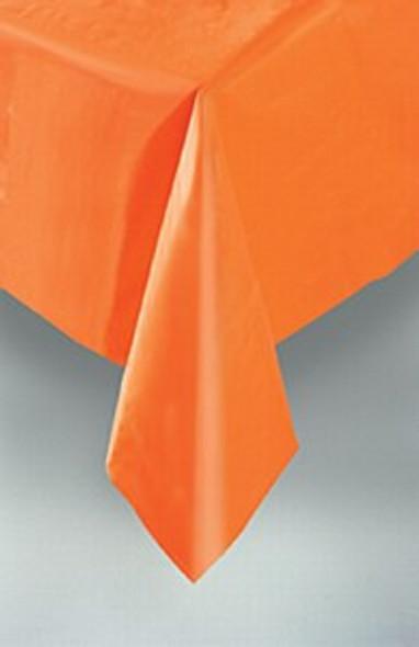 Pumpkin Orange Tablecover