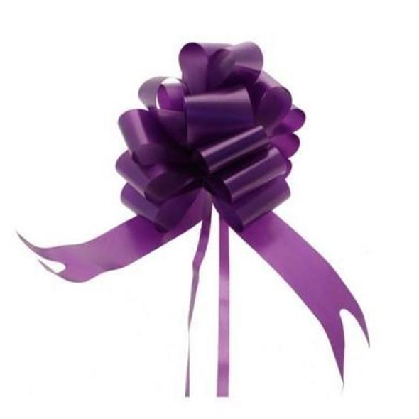 Purple Pull Bow Ribbon