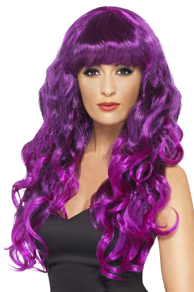 Purple Siren Wig