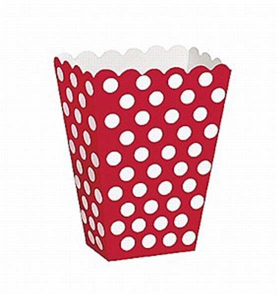 Red Dots Treat Boxes