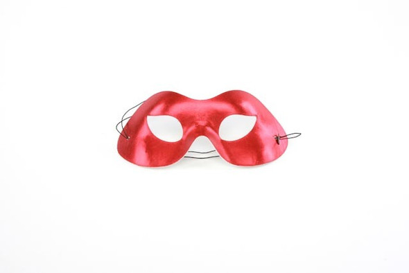 Red Metallic Eyemask