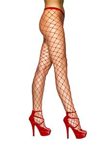 Red Net Tights