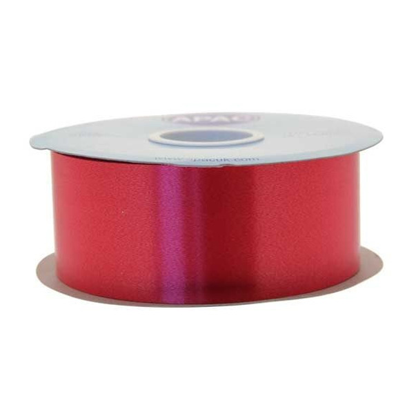 Red Polypropylene Ribbon