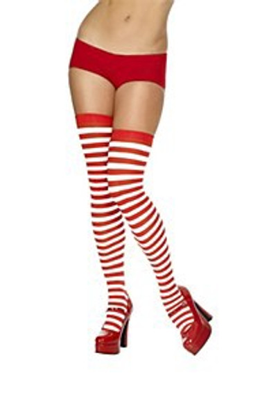 Red White Stripped Stockings