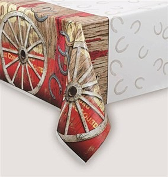 Rodeo Western Tablecover