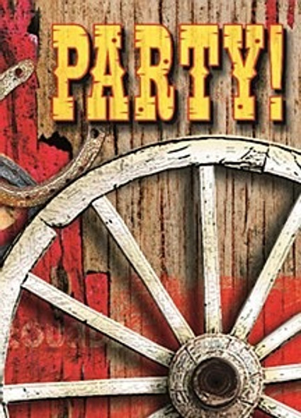 Rodeo Western Party Invites