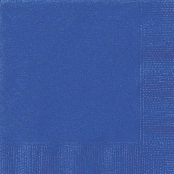 Royal Blue Paper Napkins