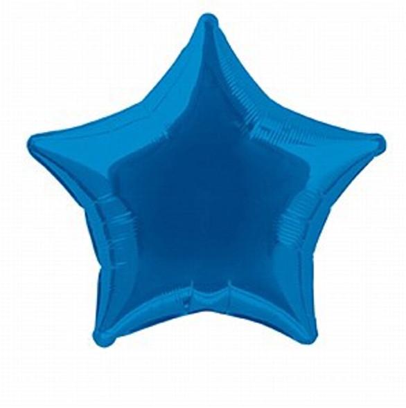 Royal Blue Star Balloon