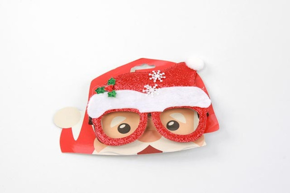 Santa Hat Glasses