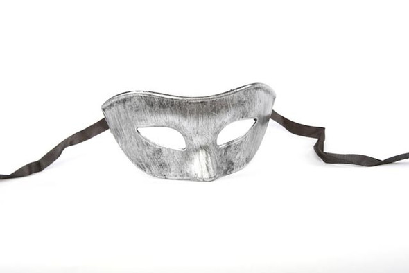 Silver Carnival Eyemask