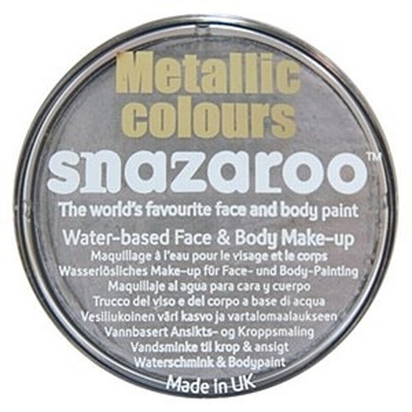 Silver Snazaroo Face Paint