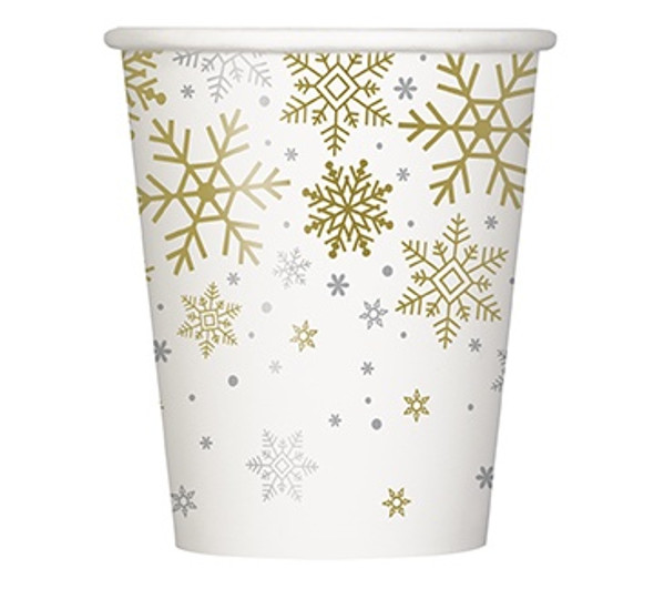 Snowflake Party Cups