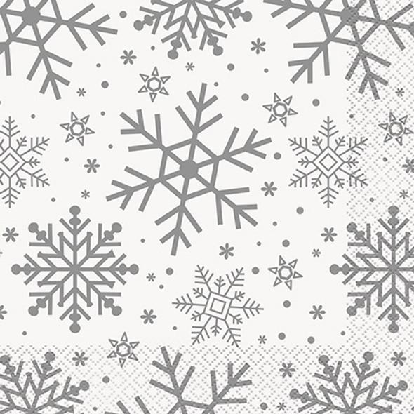 Snowflake Party Napkins