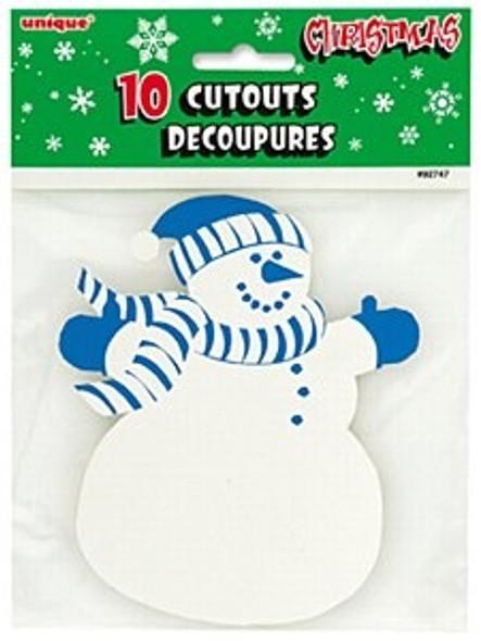 Snowman Cutout Decorations