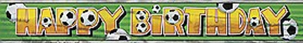 Soccer Party Banner