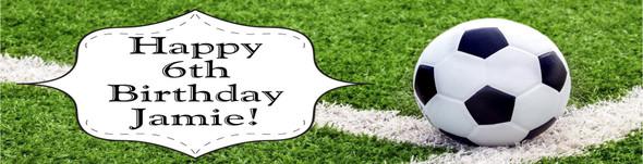 Soccer Birthday Banner