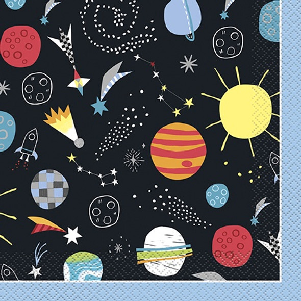 Space Party Napkins
