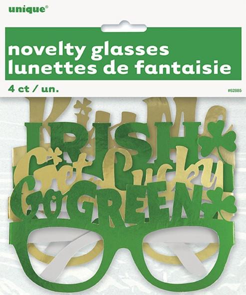 St Patrick's Party Glasses