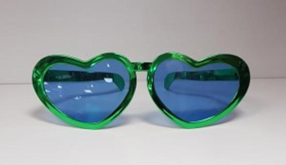 St Pats Heart Glasses
