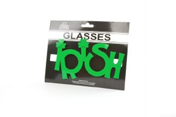 St Patricks Irish Glasses