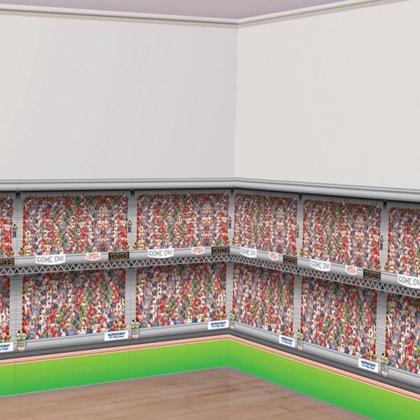 Stadium Room Roll