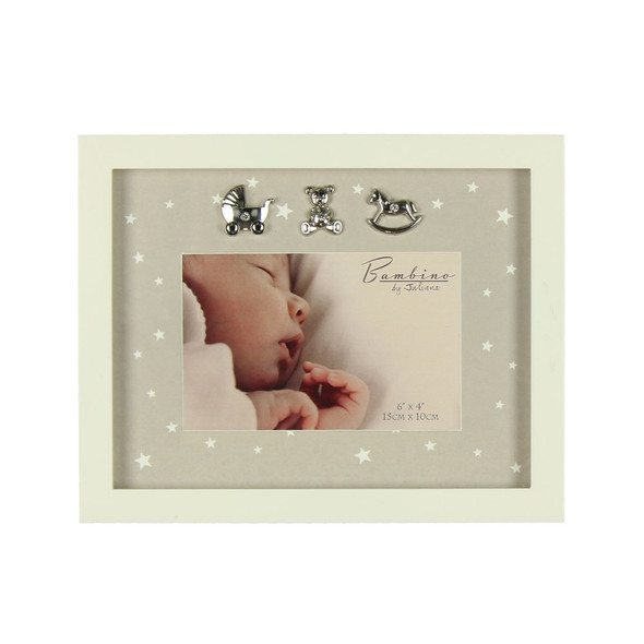 Star Pattern Photo Frame