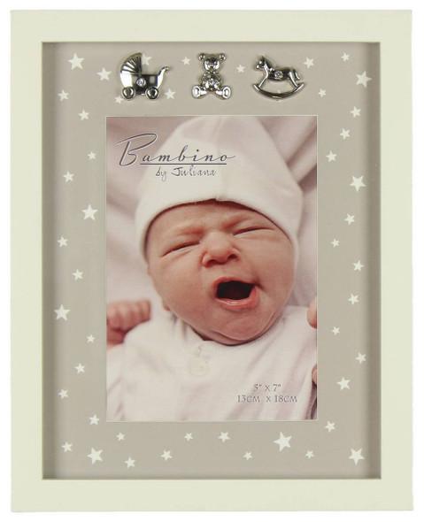 Star Pattern Baby Frame