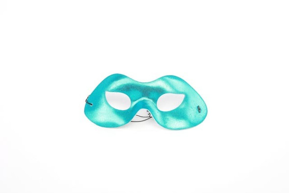 Teal Metallic Eyemask