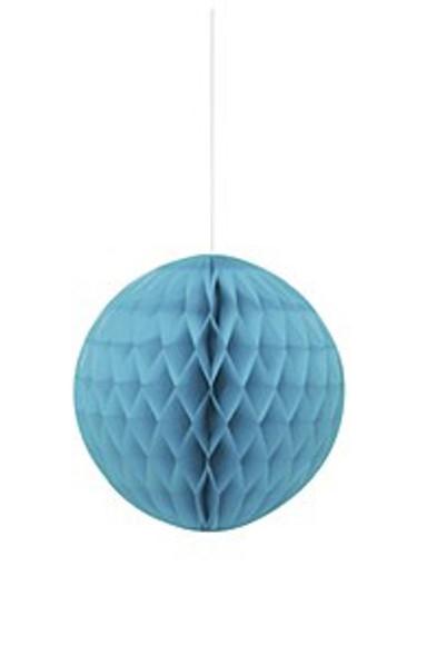 Teal Honeycomb Ball