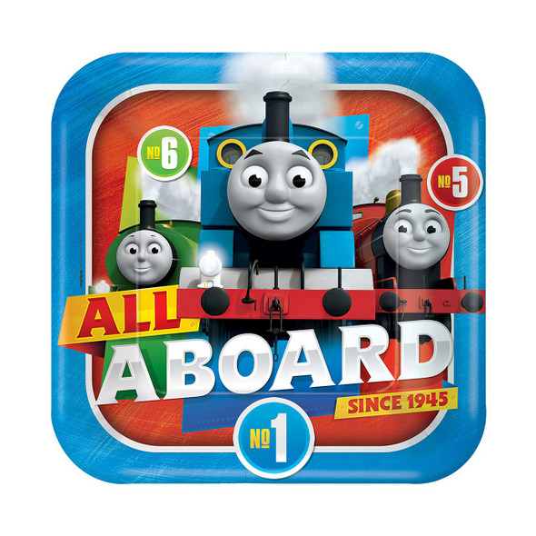 Thomas All Aboard Plates