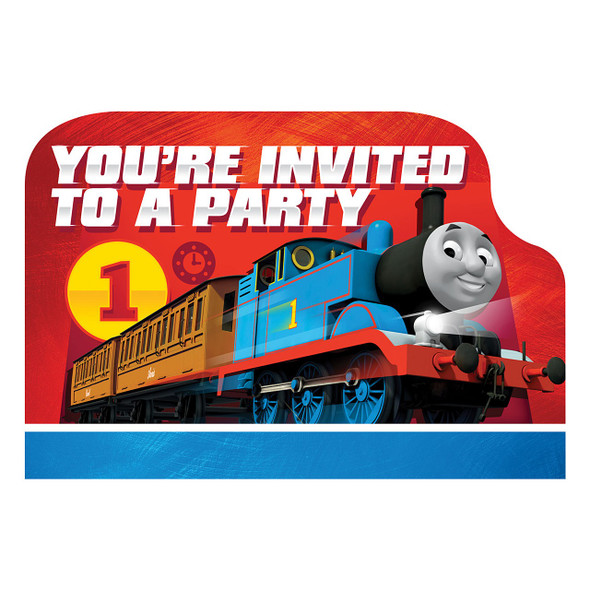Thomas and Friends Invites