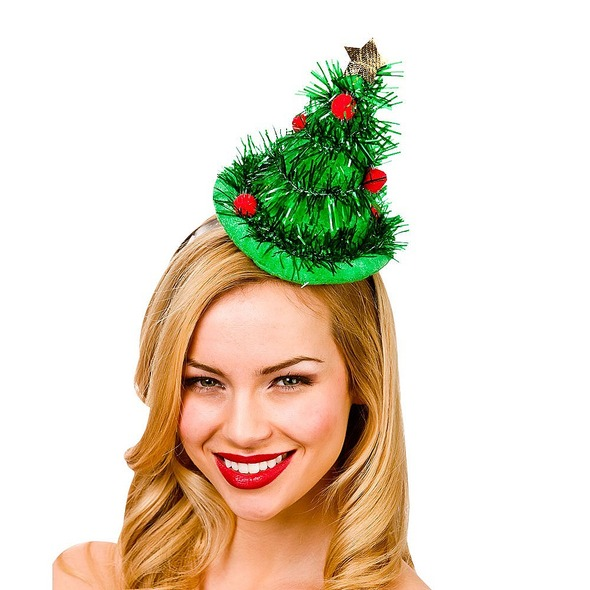 Tinsel Tree Hat