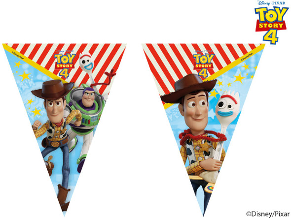 Toy Story 4 Flag Banner