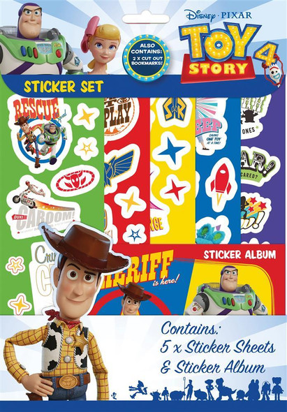 Toy Story 4 Stickers Set