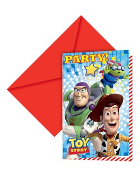 Toy Story Party Invitations