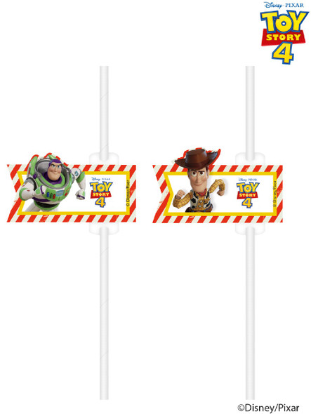 Toy Story 4 Party Straws