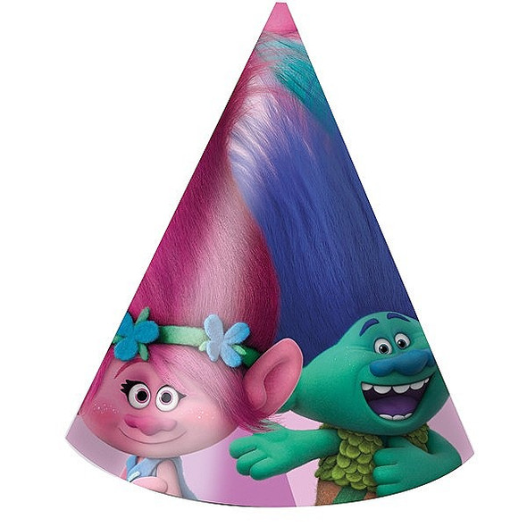 Trolls Party Hats