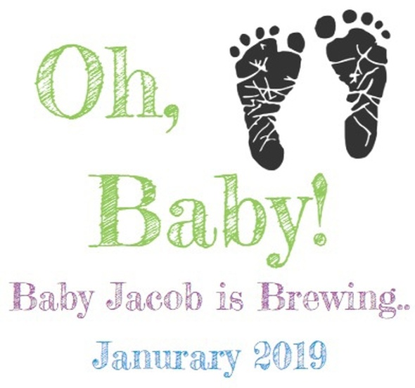 6PK Oh Baby Beer Labels