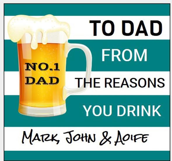 6Pk Reason You Drink Labels