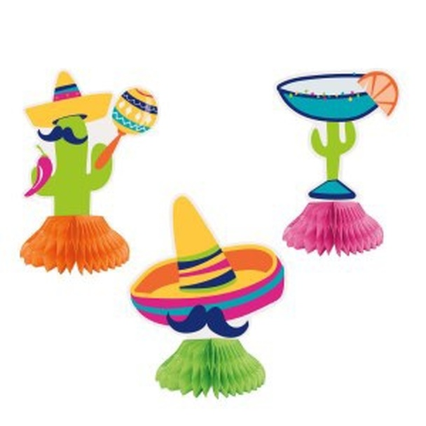 Fiesta Honeycomb Decorations