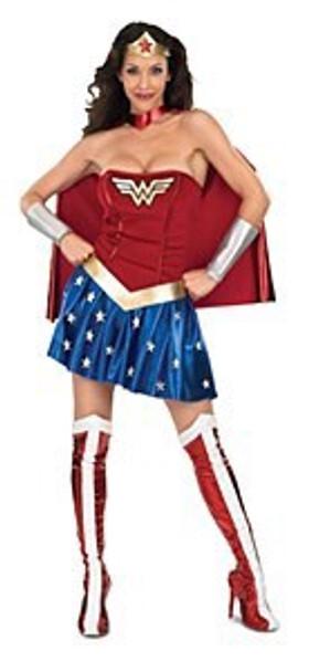 Ladies Wonderwoman Costume