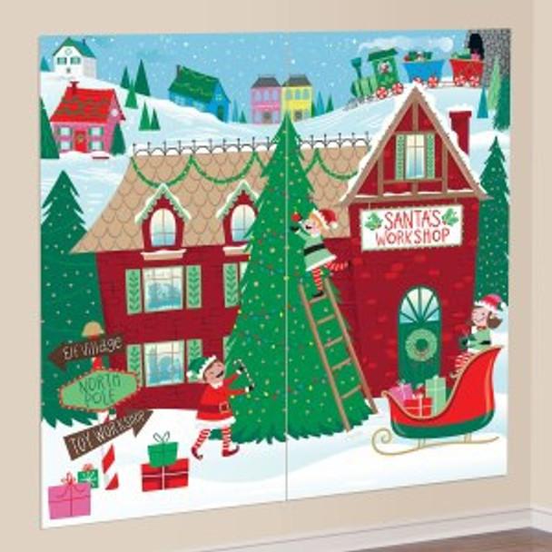 Santa's Workshop Scene