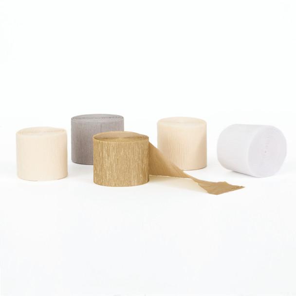 Crepe Streamer Decorating Kit