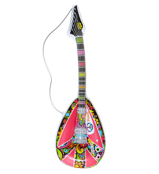 Inflatable Hippy Guitar