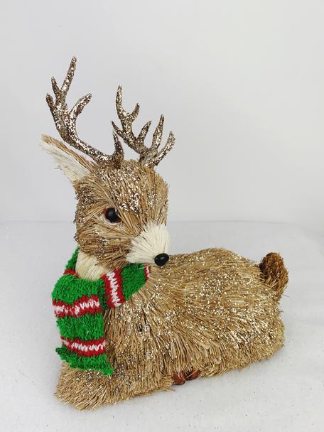 Winter Male Deer Decoration