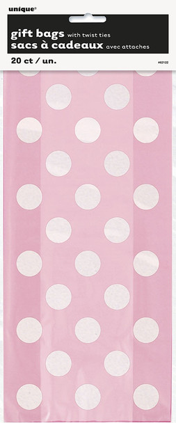 Baby Pink Dots Gift Bags