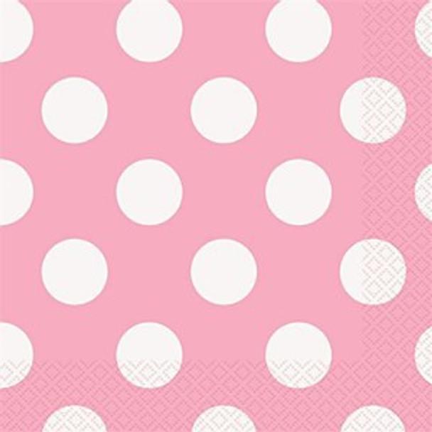 Baby Pink Dots Napkins